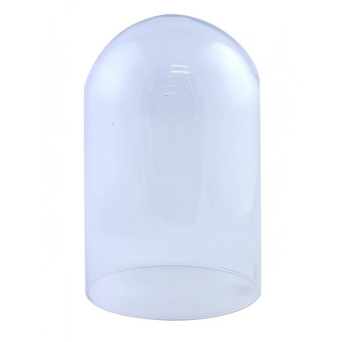 "Vase ""Cloche"" transparent"