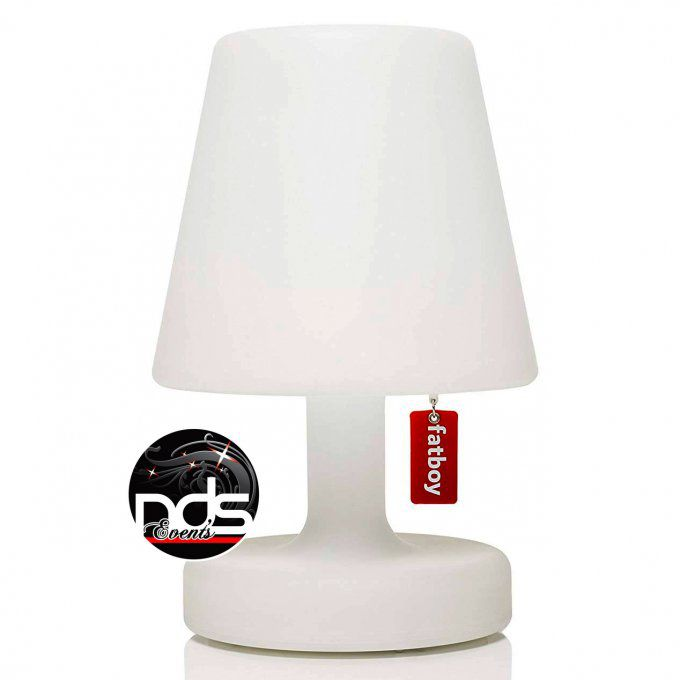 Lampe de table LED blanc sur batterie